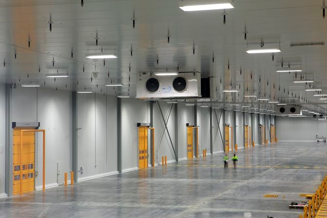 Refrigerated Warehouses - Engineered Design Group